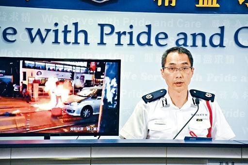 新界北總區指揮官郭蔭庸表示,過去四天有超過二百間商鋪或公共設施被破壞。