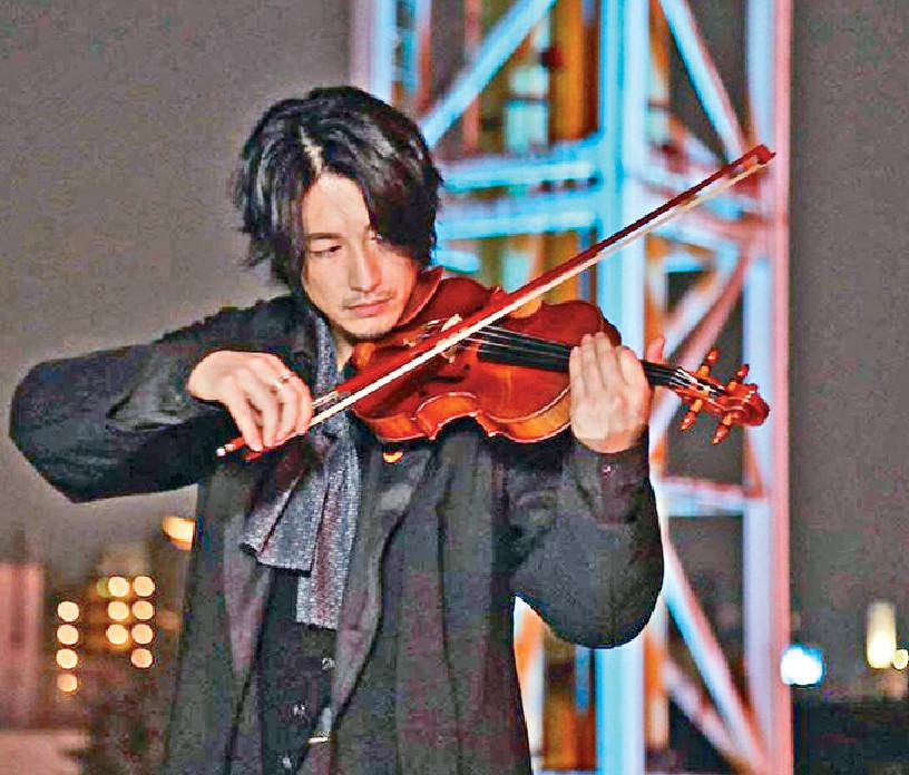 ■藤岡靛拉小提琴晒音樂才華。