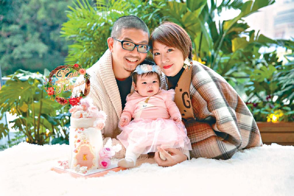 ■利嘉兒結婚八年,去年終得償所願誕下愛女劉書雅(Karyssa)。