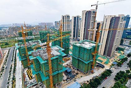 內地「金九銀十」旺季催化下,內房銷售大多數有增長。