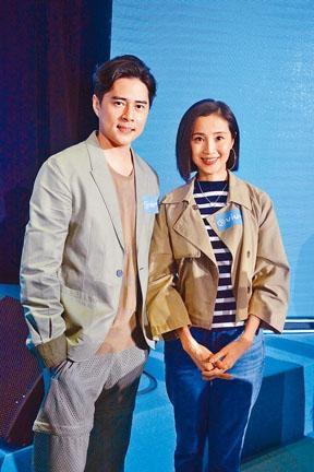 天佑及小環為ViuTV拍攝劇集。