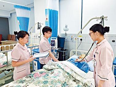 明愛白英奇專業學校的健康護理高級文憑課程新納入SSSDP,涉及八十個資助學額。