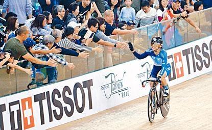 場地單車世界盃香港站將如期在港舉行。