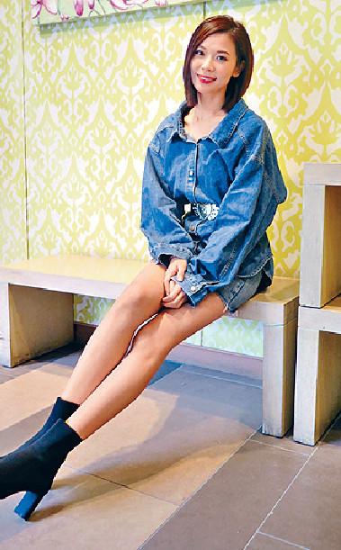 ■港姐出身的楊秀惠擁有一雙長腿。資料圖片