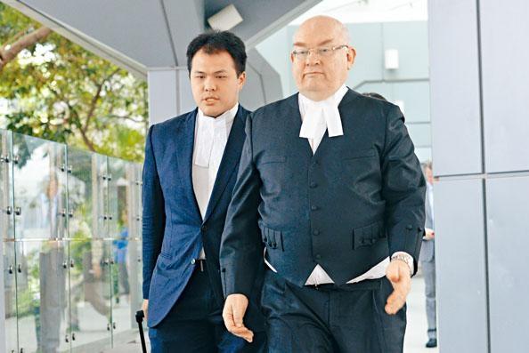 ■大律師公會主席戴啟思。