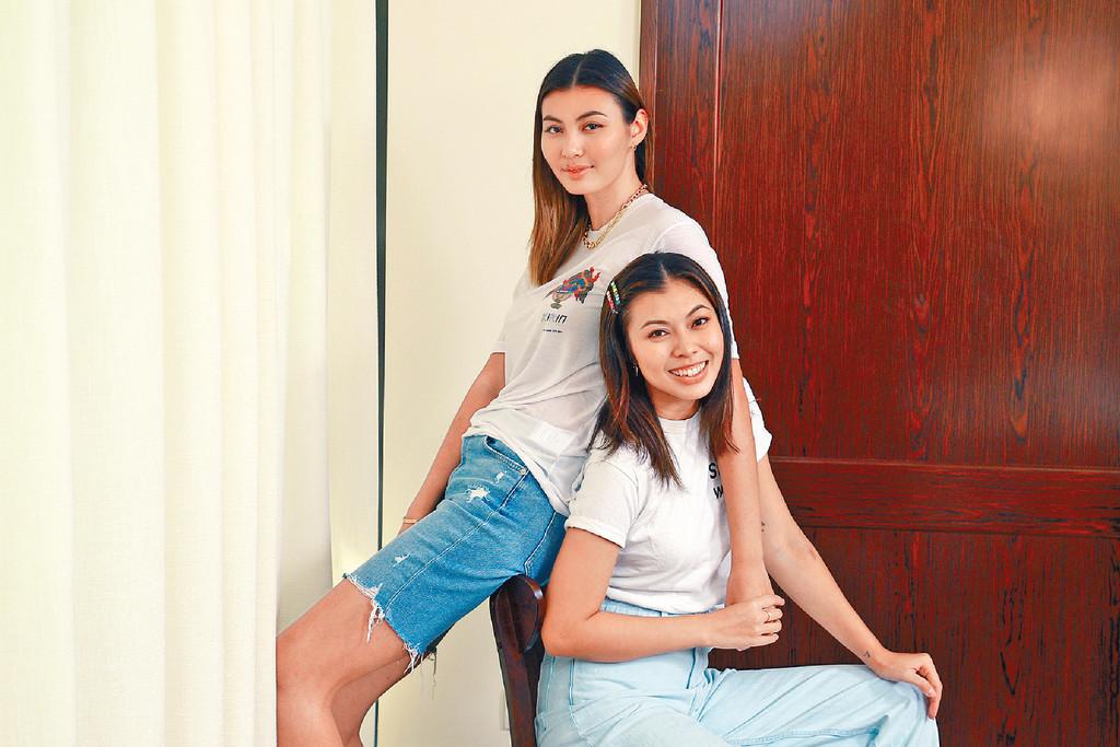 各自發展 ■26歲王曼喜和24歲的王麗嘉各自向自己的目標進發。