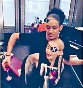 娜姐的新歡Ahlamalik為她伴舞兼演出MV。