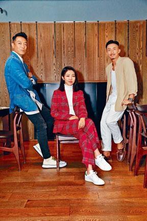 姜皓文、顏卓靈和張繼聰在新片《犯罪現場》中合作。