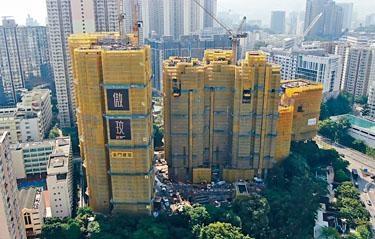 何文田傲玟首推81伙發售,並以3房大戶為主。