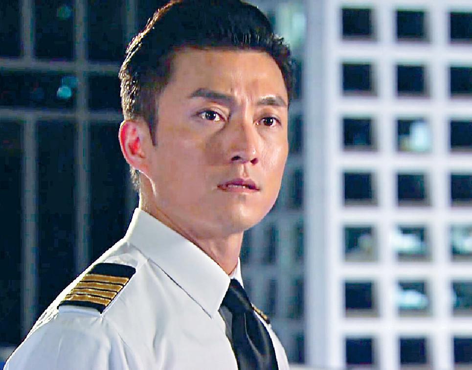 ■陳山聰在劇集尾段「升呢」成為Captain。