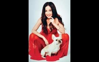 北京做Model變型女 溫碧霞喜獲小狗歡迎