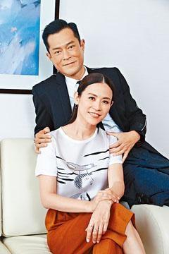 古天樂與宣萱相隔17年,於《犯罪現場》中再合作。