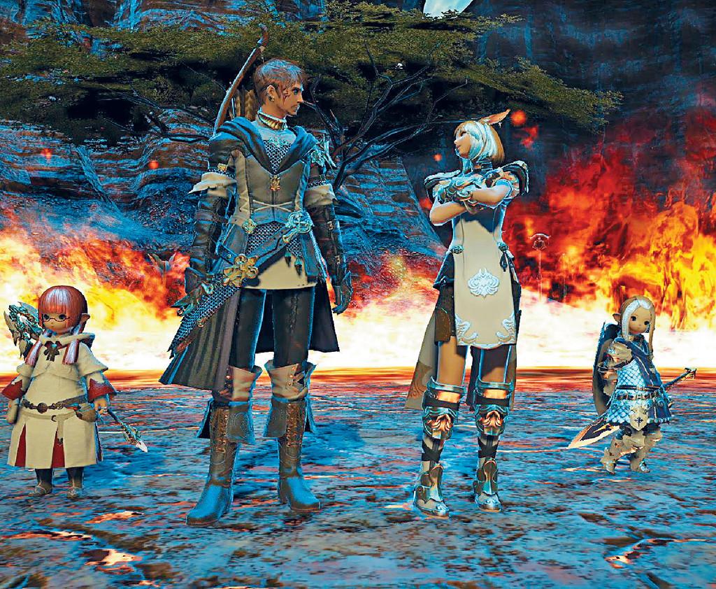 真實遊戲 ■電影製作團隊唔用CG動畫呈現遊戲世界,而是拍攝實機的遊戲片段。