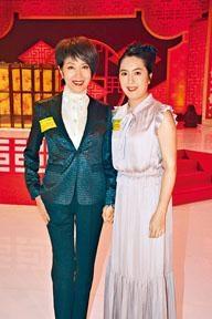 ■謝雪心(左)大讚李沛妍對粵劇有熱誠。
