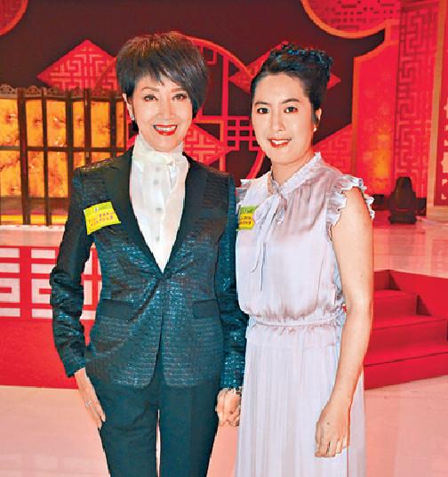 ■謝雪心認為李沛妍得名伶父母遺傳愛上粵劇。