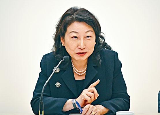 ■鄭若驊表示,《禁蒙面法》已平衡言論及集會自由等。