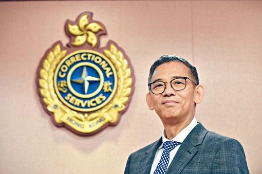 ■懲教署署長胡英明表示,希望讓不同院所試用智能措施,再逐步變革。