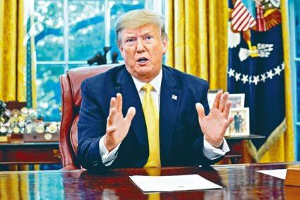 有美國專家曾警告特朗普,中美貿易戰可能影響其連任機會。