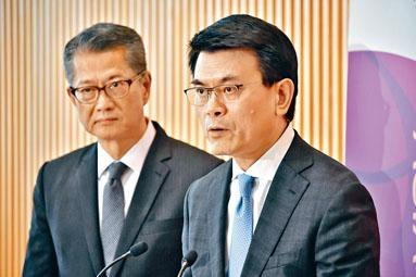 陳茂波最快今日聯同商經局局長邱騰華會見傳媒。