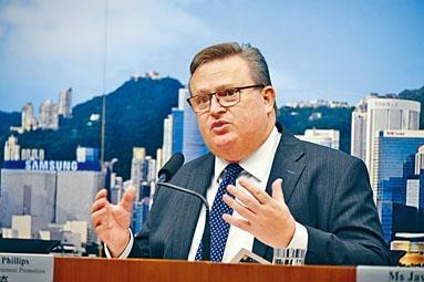 投資推廣署署長傅仲森表示,有信心香港會繼續吸引世界級投資者前來開展業務。