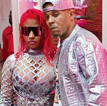 Nicki Minaj已嫁給男友Kenneth Petty。