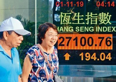 ■港股升穿27000大關,創9月16日以來新高。