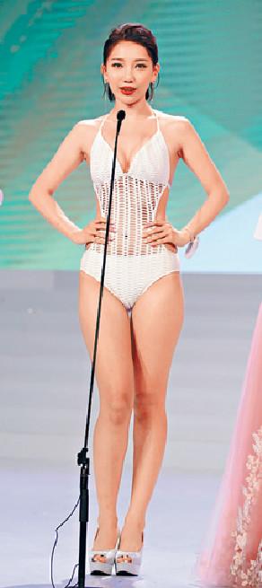 ■羅思雅勇奪亞姐港區冠軍。