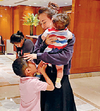 ■諸葛紫岐已育有兩子,但她表示好想追個女。