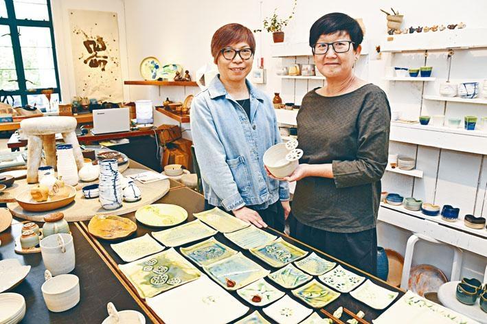 Yokky(右)和Heidi(左)都為將興趣發展成事業而努力。