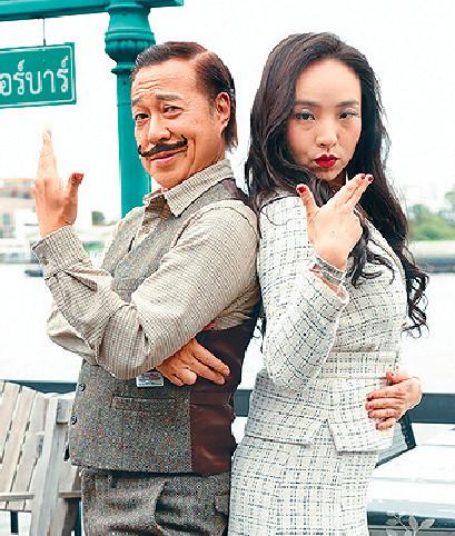 ■詹Sir大讚小美深懂用身體語言演戲,是不可多得好對手。