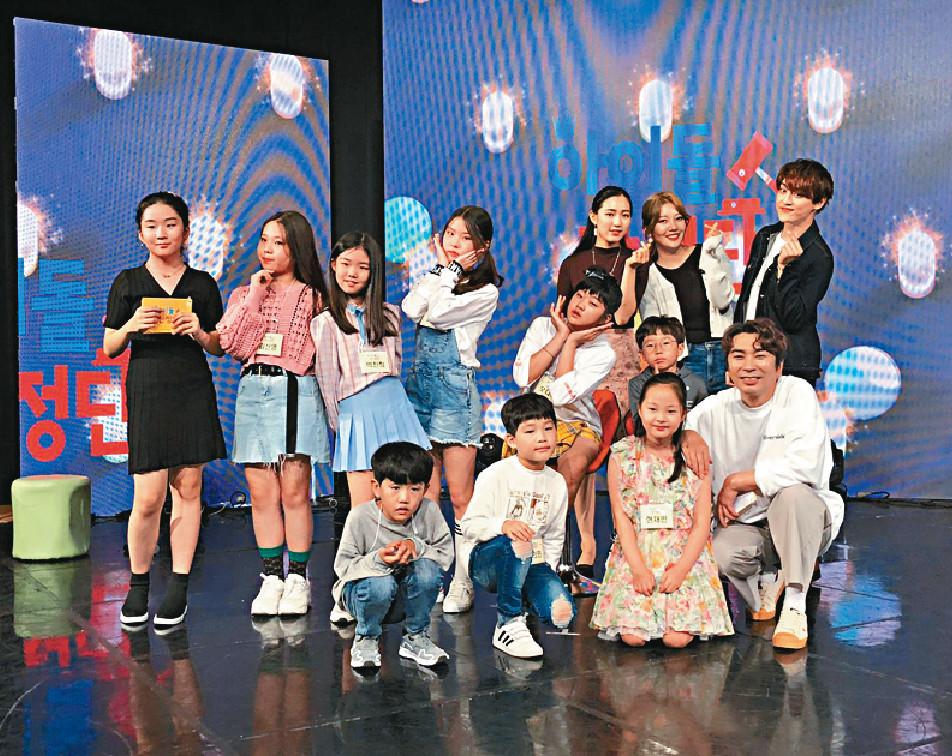 ■狗毛喺韓國宣傳時即興上咗個兒童節目。
