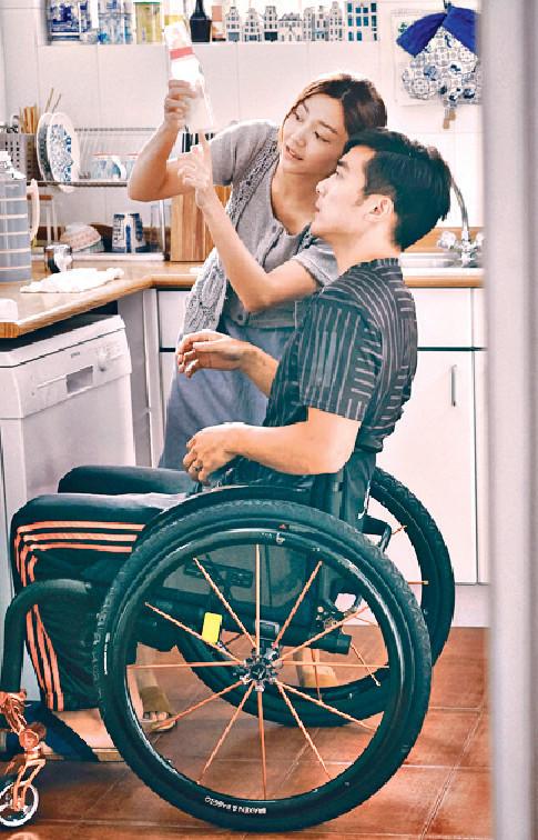 ■詩雅和Alex都是首次演父母角色,對他們是一大挑戰。