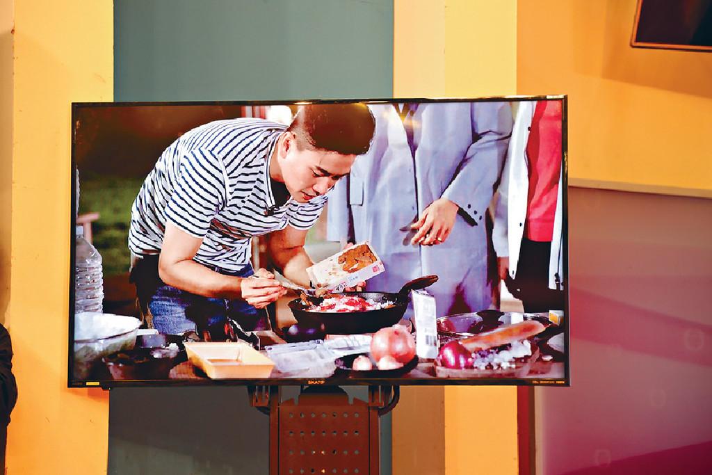 ■新節目請來黃宗澤做嘉賓,大展廚技。