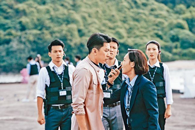 ■惠英紅與袁偉豪同憑《鐵探》的演出競逐華鼎獎。