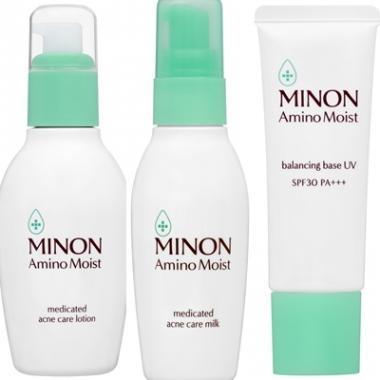 混合肌救星!MINON全新氨基酸滋潤保濕平衡淨肌系列 平衡水油肌 擊退粉刺黑頭