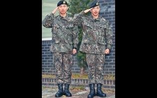 BIGBANG四子將合體  太陽大聲退伍2000粉絲冒寒迎接