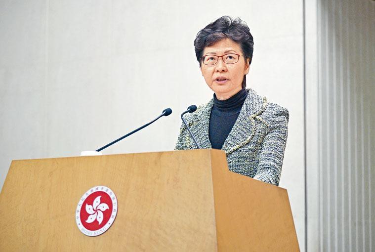 林鄭月娥批評,激進蒙面示威者想癱瘓香港,造成香港停擺的現象是極為自私。
