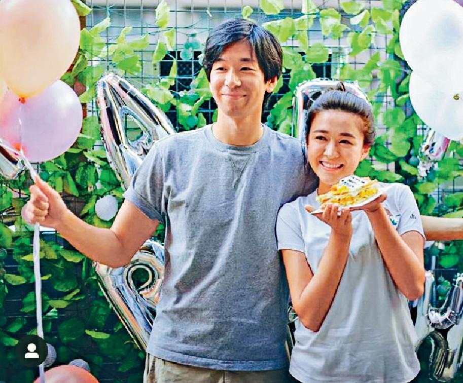 ■男友為江嘉敏慶祝25歲牛一。