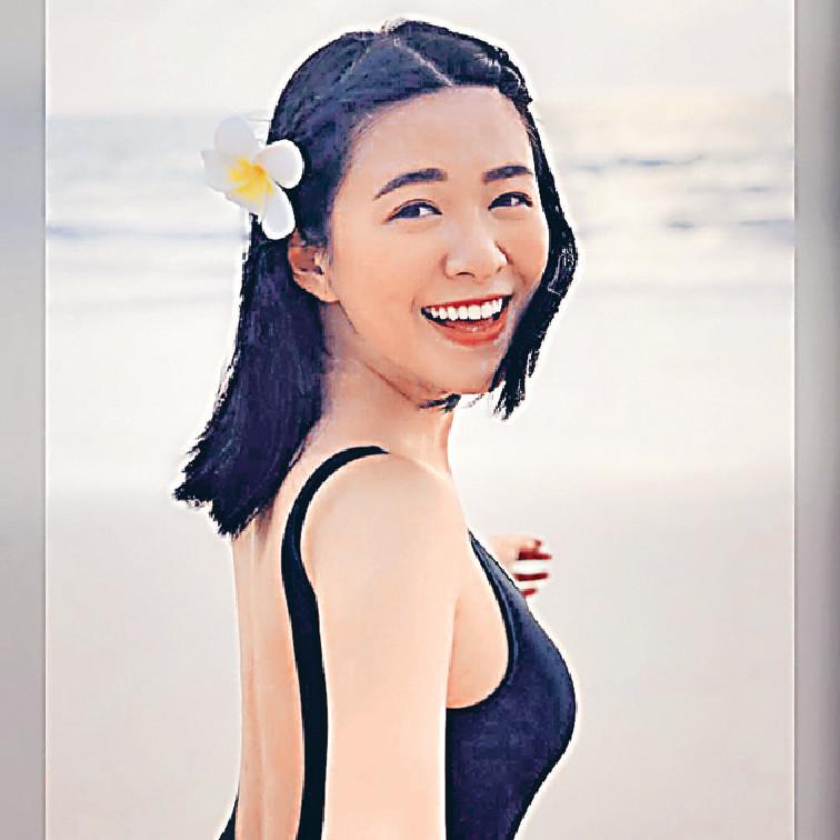 ■巴打們最鍾意江嘉敏嘅甜美笑容。
