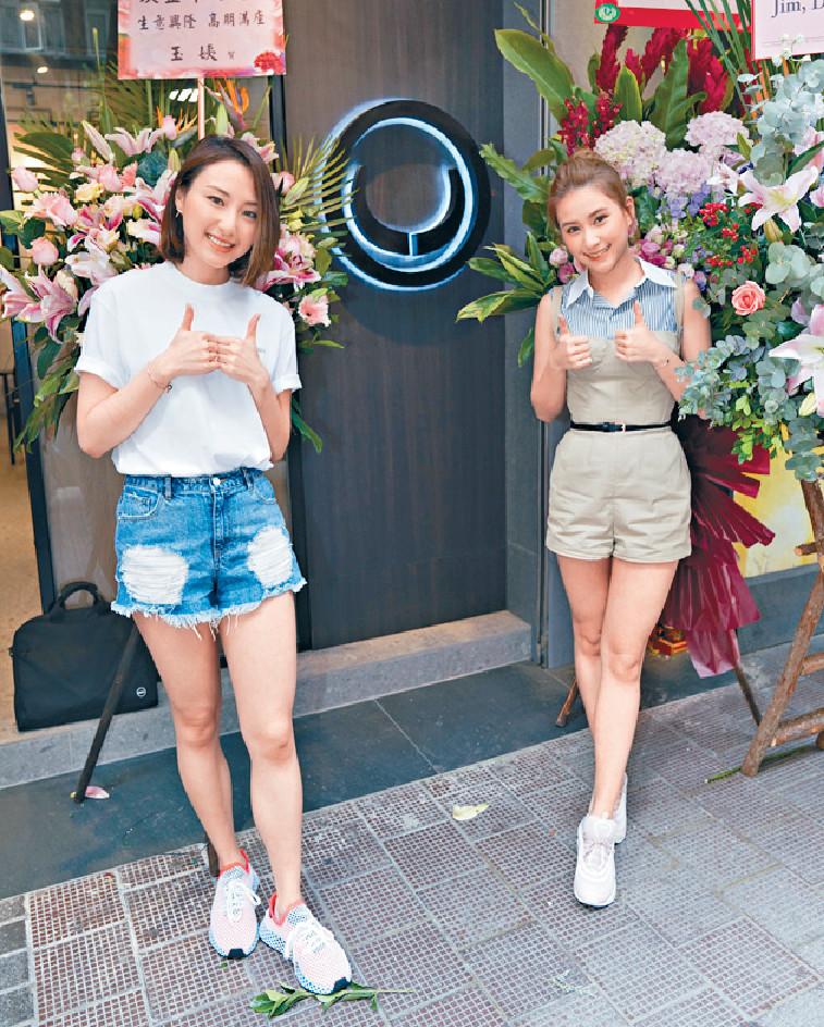 ■超雲近年生活低調,之前曾出席妹妹超蓮新店活動。