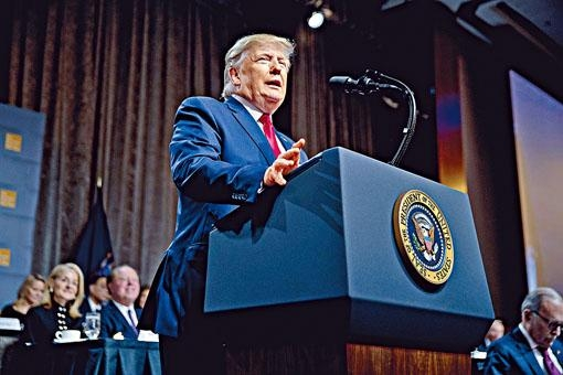 特朗普稱首階段貿易協議已經很接近。