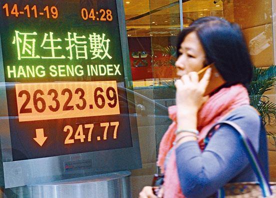 本地傳媒昨否認宵禁消息,投資者已無心戀戰,大市只能收窄跌幅。