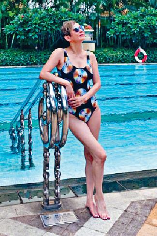 ■平日做開運動的安安姐身形體格都好Fit,因此,康復進度理想。
