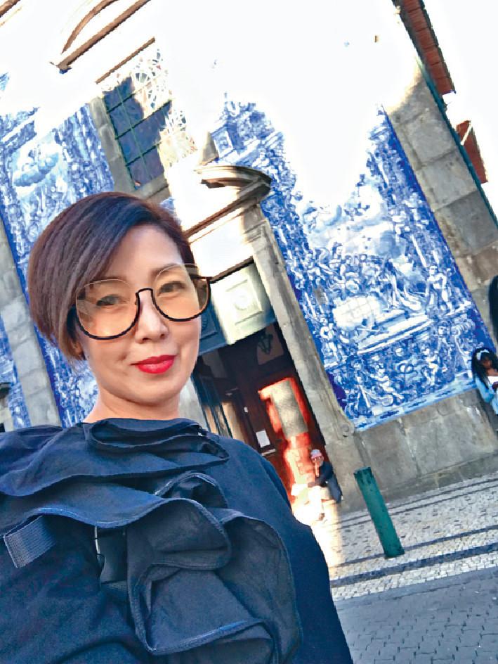 ■芷珊去到葡萄牙,當然不難發現這種藍白瓷磚的建築物。