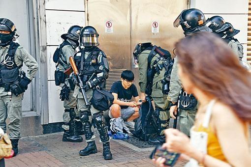 ■懲教「特任警」暫時未能出動協助警方執勤。