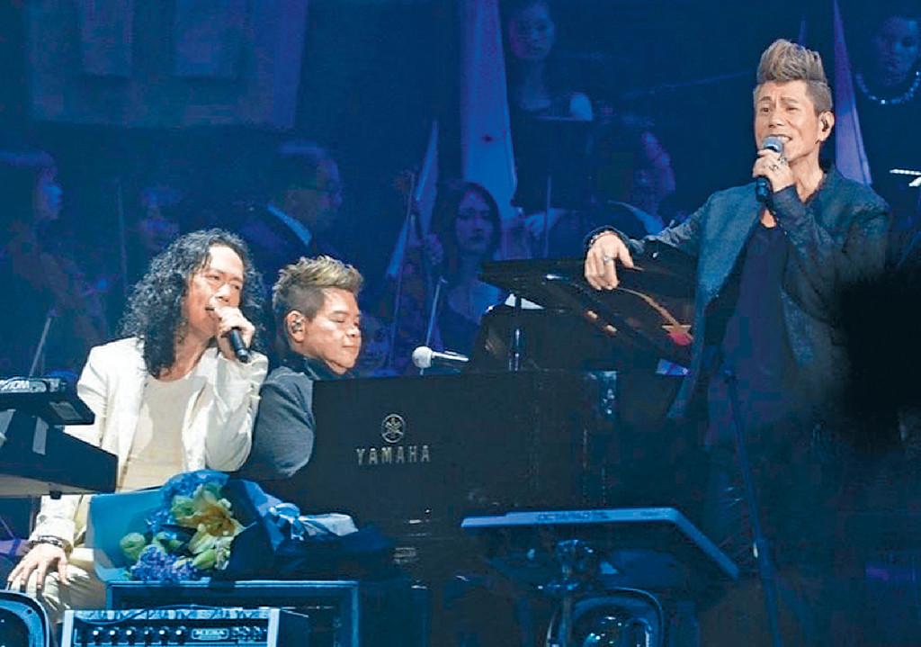 ■單飛演唱會當然唔少得太極兄弟Patrick同Gary Tong。