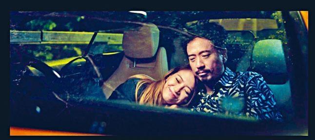■人氣網劇《性敢中環》其中一爆點必定是Eric Kwok與陳嘉莉的「車震」劇情。