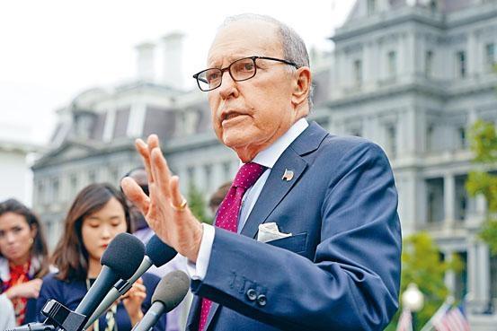 ■白宮首席經濟顧問庫德洛表示,中美接近達成貿協,雙方的談判非常有建設性。