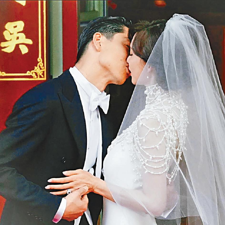 ■志玲與老公情深親吻,甜到漏!