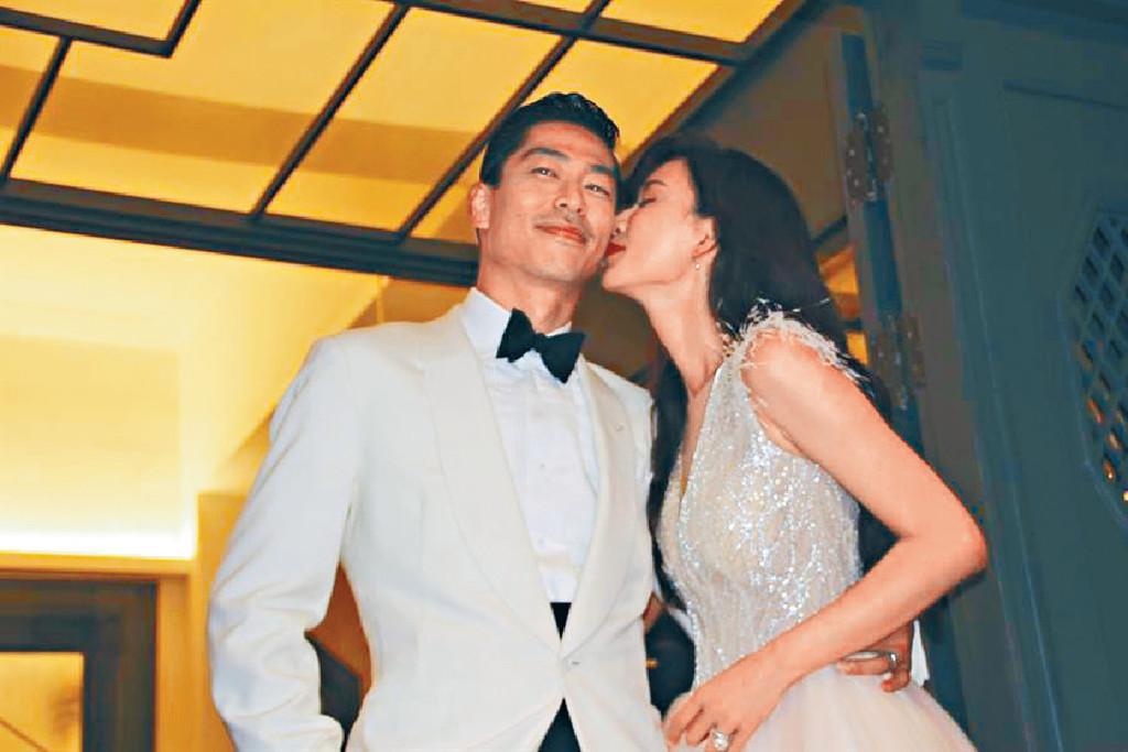 ■志玲亦有回吻老公!